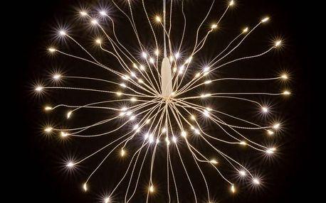 Nexos 64518 Vánoční osvětlení meteorický déšť - 180 LED, teplá bílá