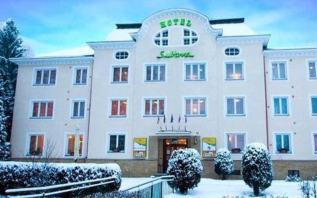 Krušné hory u Karlových Varů: Hotel Subterra *** s wellness, polopenzí a slevami do muzeí i aquaparku
