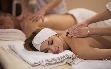 Romantika a luxus pro dva: výběr z masáží