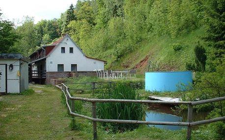Prázdninový domek ve Vlčicích i s domácími mazlíčky