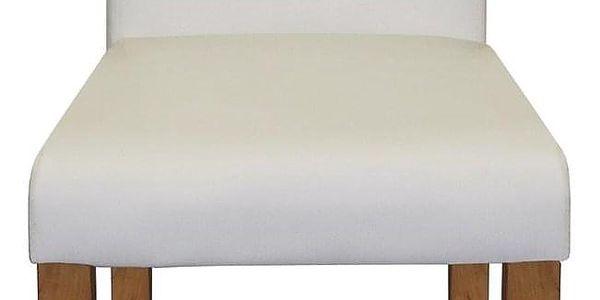 Židle PRIMA bílá 30372