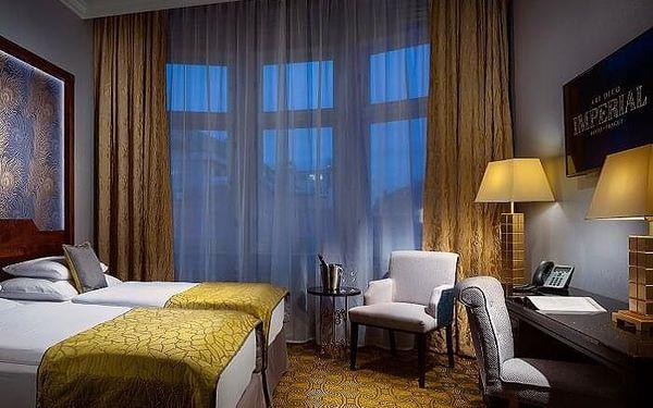 Noc v hotelu Imperial   Praha   do 31.3.2021 mimo (29.12. 2020- 3.1.2021).   2 dny/1 noc.4