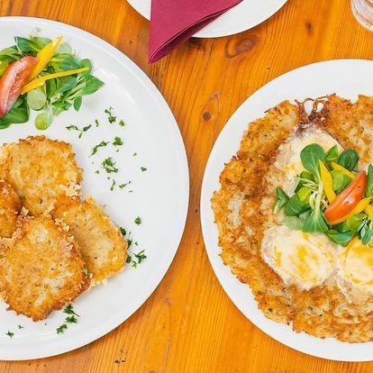 Prkno tvarůžků: pomazánka, smažené i v bramboráku