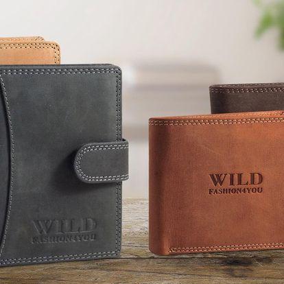 Divoké avšak vkusné: pánské kožené peněženky Wild