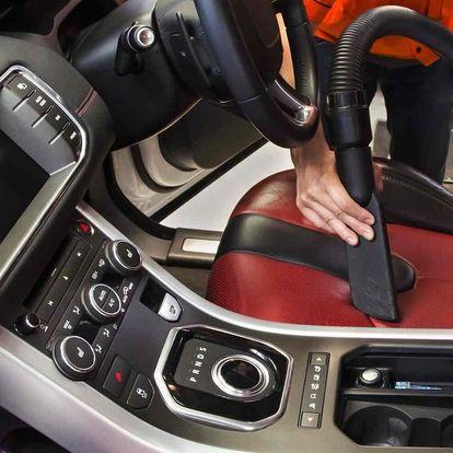 Péče o váš vůz: čištění interiéru i tepování sedadel