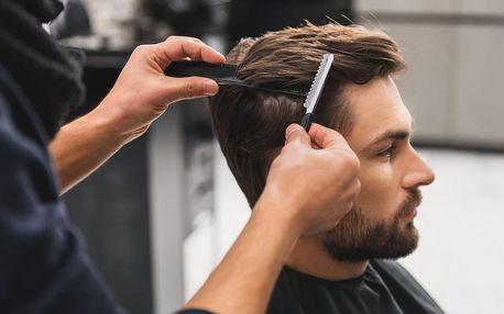 Kadeřnický balíček pro pány: střih i masáž hlavy