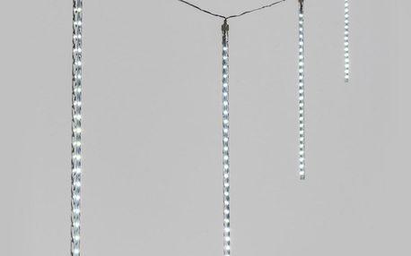 Řetěz padající kapky 10480, 10 trubic 50 cm s 480 LED studená bílá