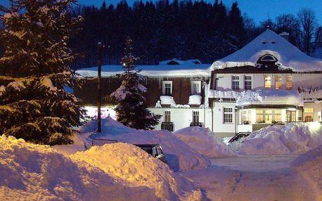 Celý rok v hotelu PROM v Krkonoších u Černé Hory s polopenzí