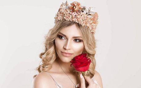 Den jako pro královnu: kosmetika, masáž i foukaná