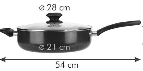 Tescoma PRESTO hluboká pánev s poklicí 28 cm2