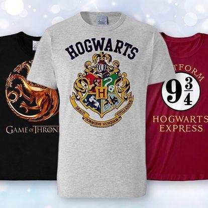 Trička Harry Potter, Pán prstenů a Hra o trůny