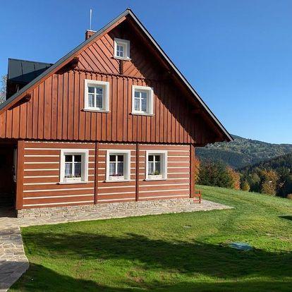 Liberecký kraj: Mezi Kopci - Mid Hills House - Dům s výhledem na sjezdovky