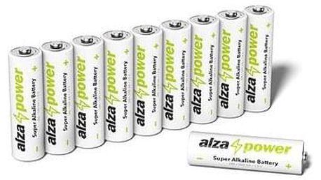 AlzaPower Super Alkaline LR6 (AA) 10ks v eko-boxu
