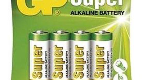 GP Super Alkaline LR6 (AA) 4ks v blistru
