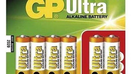 GP Ultra Alkaline LR06 (AA) 4+2ks v blistru
