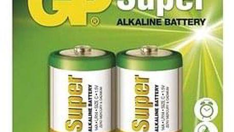 GP Super Alkaline LR14 (C) 2ks v blistru
