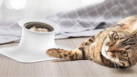 Moderní miska s protiskluzem pro kočky a malé psy