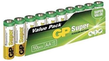 GP Super Alkaline LR6 (AA) 10ks v blistru