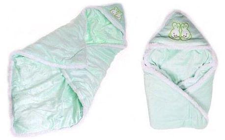 Dětská deka zelená