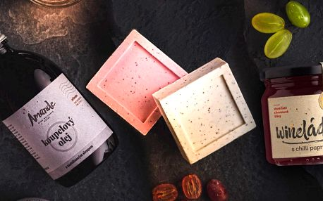 Vinná kosmetika i marmelády z hroznové šťávy