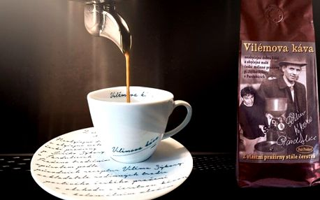 500 g kávy z rodinné pražírny, hrníček a doprava zdarma