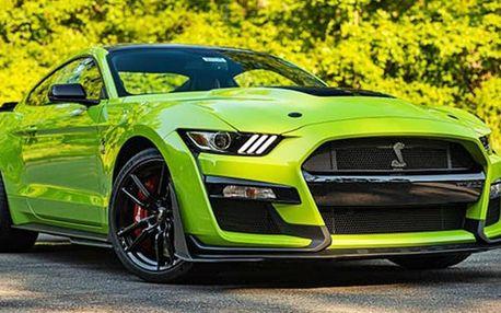 Pronájem Fordu Mustang na 40 minut, 12 nebo 24 hodin