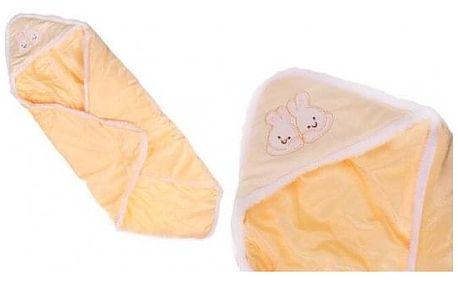Dětská deka žlutá