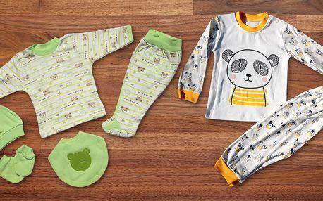 Roztomilé 2–7dílné sety oblečení pro miminka