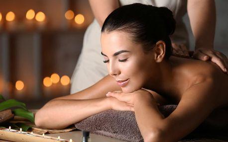 Relaxační masáž aroma olejem: 60 nebo 90 min.
