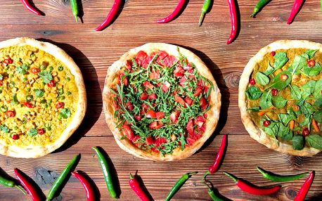 PizzaPunk: veganská pizza k odnosu s sebou