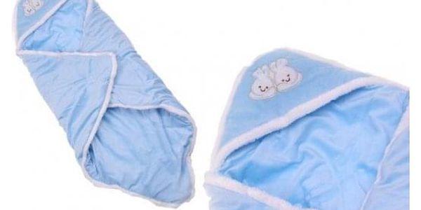 Dětská deka modrá