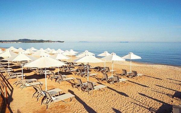 ACHARAVI BEACH, Korfu, Řecko, Korfu, letecky, polopenze2