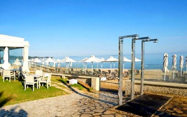 ACHARAVI BEACH, Korfu, Řecko, Korfu, letecky, polopenze4
