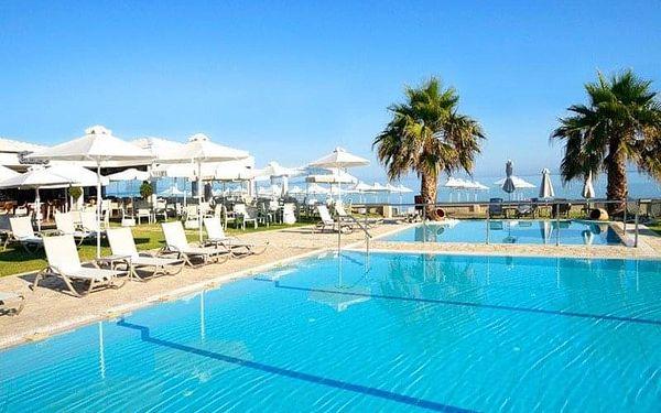 ACHARAVI BEACH, Korfu, Řecko, Korfu, letecky, polopenze5