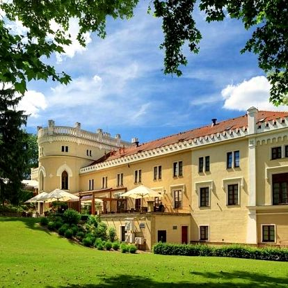 Dvě noci na zámku s wellness v luxusním Chateau St. Havel v Praze
