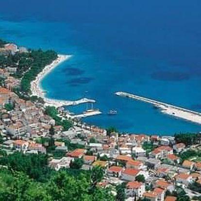 Chorvatsko - Baška Voda na 8 dnů, polopenze