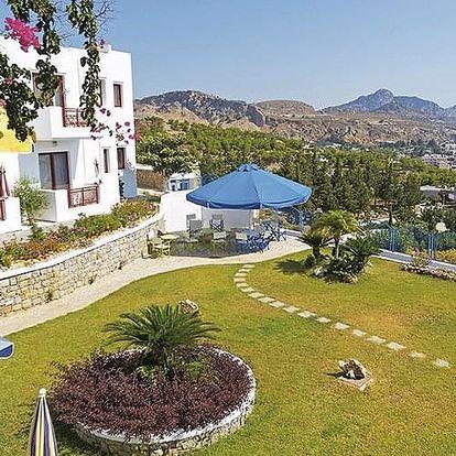 Řecko - Rhodos letecky na 9-15 dnů