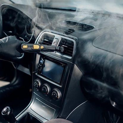 Čištění interiéru vozidla vč. dezinfekce ozonem
