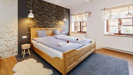 Hotel Vltavská pohádka v Českém Krumlově přímo u Vltavy pro rodiny s dětmi