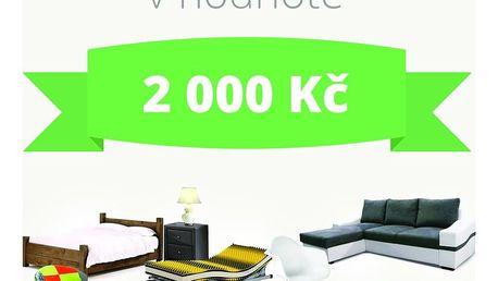 Poukaz v hodnotě 2000 Kč