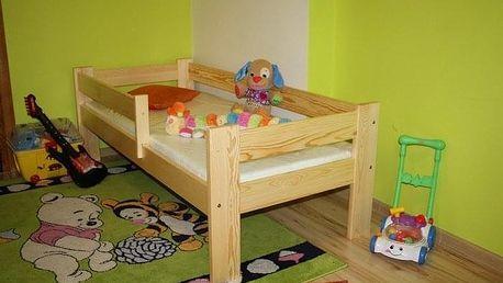 Dětská postel KRZYS 70 x 160 cm