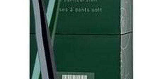 swiss smile Herbal Style dárková kazeta unisex měkký zubní kartáček Black 1 ks + měkký zubní kartáček Green 1 ks
