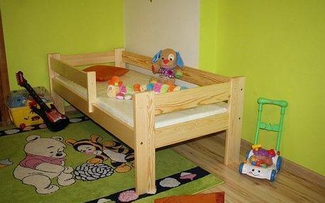 Dětská postel KRZYS 70 x 160 cm - bílý