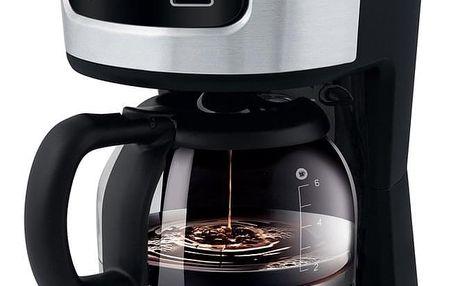 Sencor SCE 3700BK kávovar, nerez