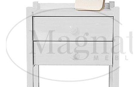Noční stolek IDA - bílá