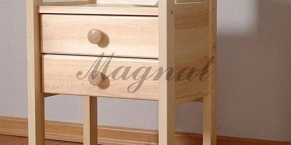 Noční stolek IDA - bezbarvý