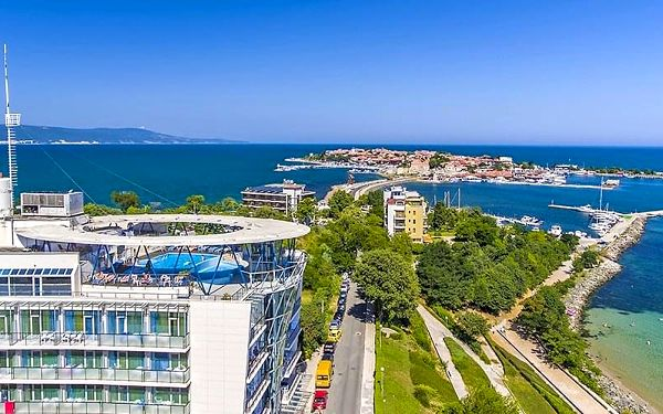 Hotel Sol Marina Palace, Burgas, letecky, all inclusive2