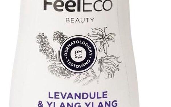 Dárkový balíček Kosmetika Feel Eco Sprchové gely: Granátové jablko 300ml, Šampony: Suché vlasy, Kosmetika: Krabička kosmetiky Feel Eco5