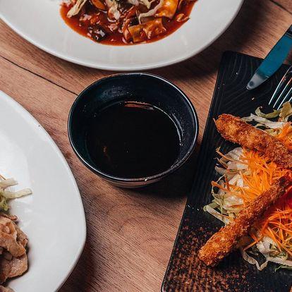 Asijské menu pro 1 i 2 osoby: xap xúí či teriyaki