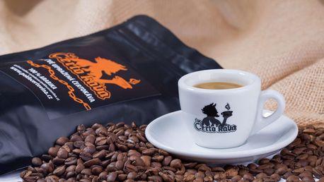 Čerstvě pražená káva z Brazílie se slevou na vstup do Pekla Čertovina